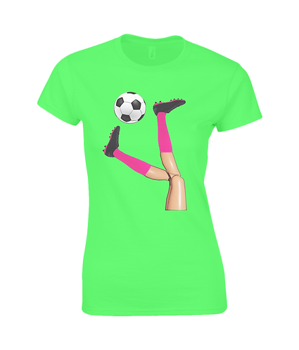 Women's Soccer Ladies T-Shirt