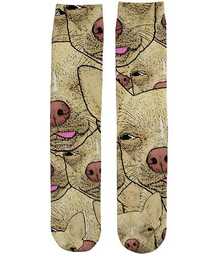 Funny Chihuahua, Cool Tube Socks