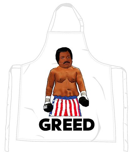 Apollo Greed Apron