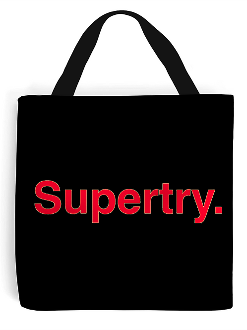Supertry Tote Bag