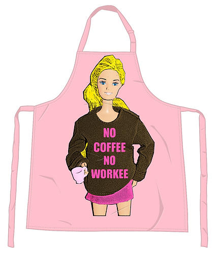 No Coffee No Workee Apron