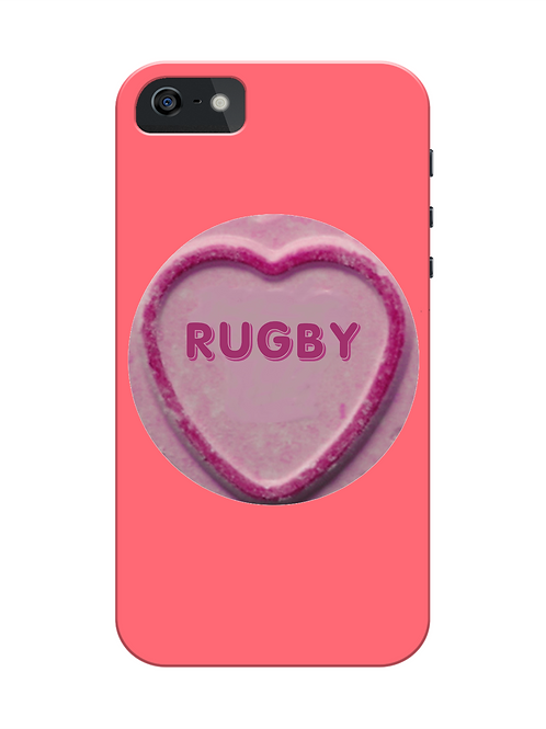 Rugby Loveheart i-phone case