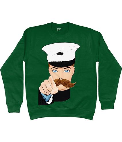 Hey You! Iconic Wartime Poster Sweatshirt