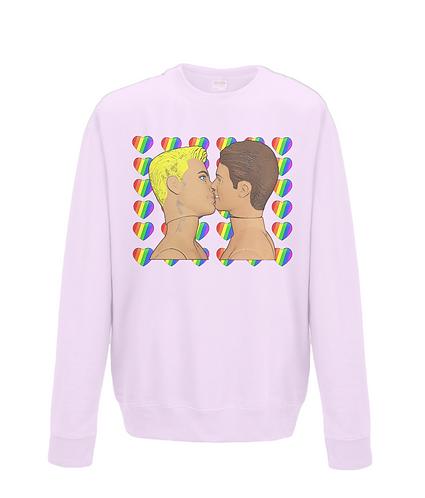 Rainbow Sweethearts, Gay Sweatshirt
