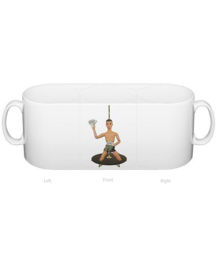 Pole Dance Man Mug