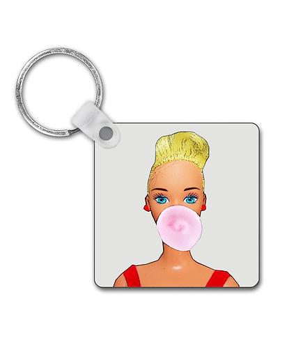 Bubblegum Girl Keyring