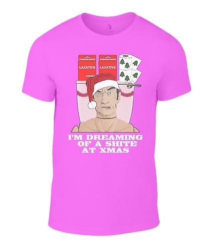 I'm Dreaming Of A Shite At Xmas T-Shirt