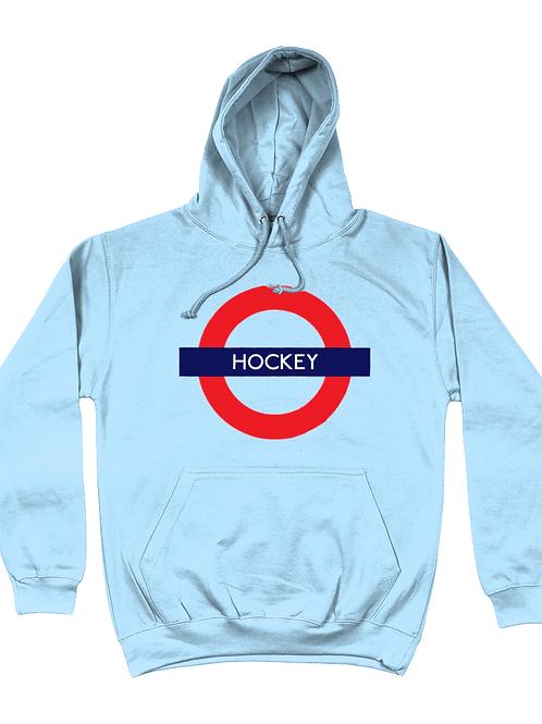 Field Hockey Tube Sign Hoodie