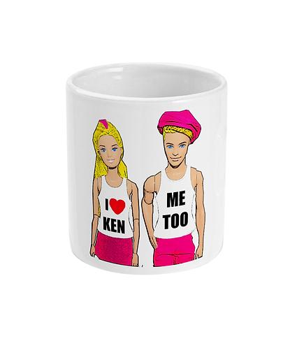 I Love Ken, Funny, Gay Mug