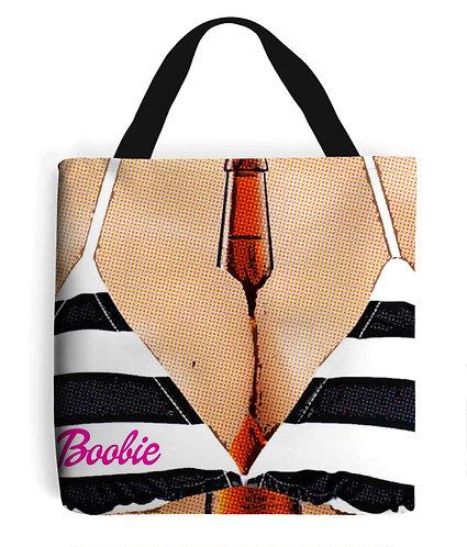 Boobie, Booze & Beer, Funny Tote Bag