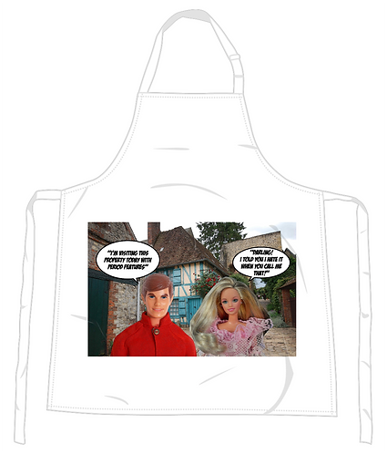 House Hunting Apron