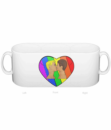Love & Pride, Gay Kiss Mug