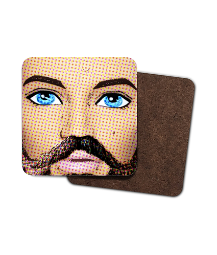 4 x Those Eyes Though, Pop Art, Drinks Coasters!