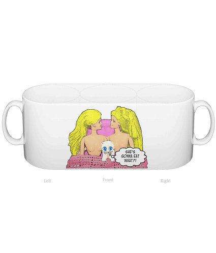 Eat Pussy! Rude, Funny, Lesbian Mug