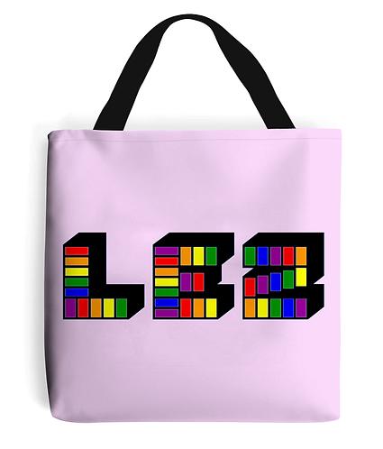 Lez! Funny, Lesbian Slogan Tote Bag