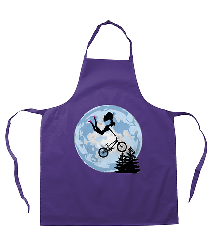 Doll Riding a BMX! Funny, Apron