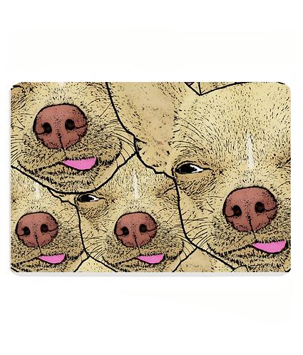 Funny Chihuahua's Pet Food Mat