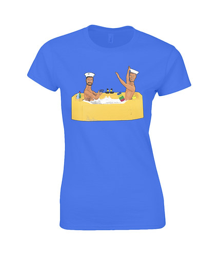 Anyone For Quoits? Rude, Gay Ladies T-Shirt