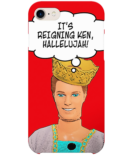 It's Reigning Ken, Hallelujah! Funny i-Phone Case