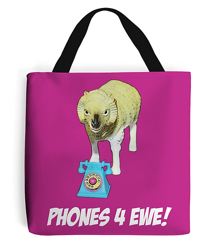 Phones 4 Ewe Tote Bag