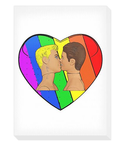 Kiss Canvas