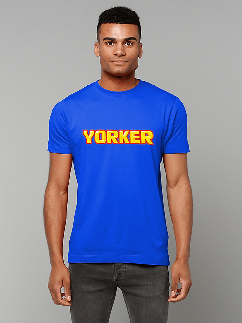 Yorker! Funny, Cool Cricket T-Shirt