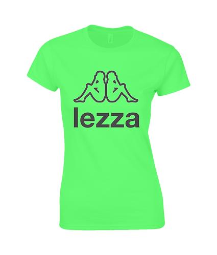 Lezza! Funny Lesbian Slogan, Ladies T-Shirt