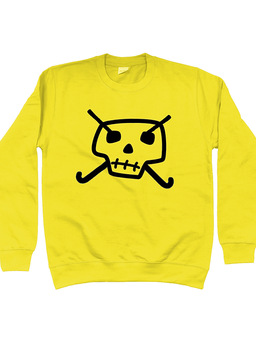 Skull & Hockey Sticks Kids Field Hockey Sweatshirt