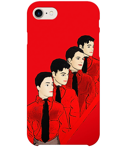 Krafwerk Dolls, Pop Art i-Phone Case