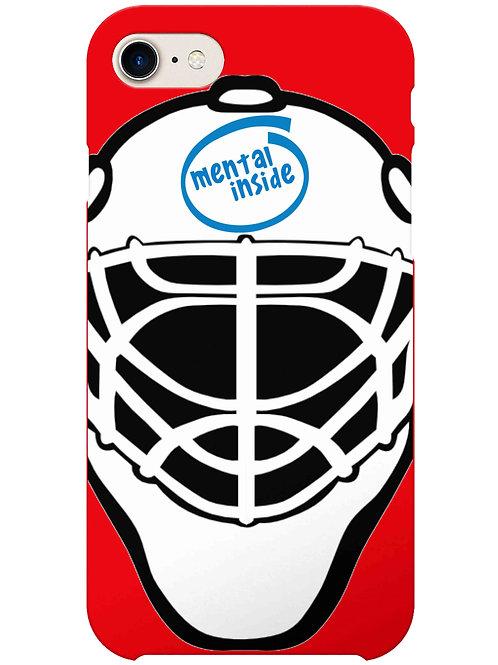Mental Inside, Field Hockey Goalie i-phone case