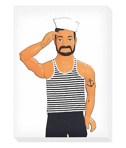 Hello Sailor Canvas