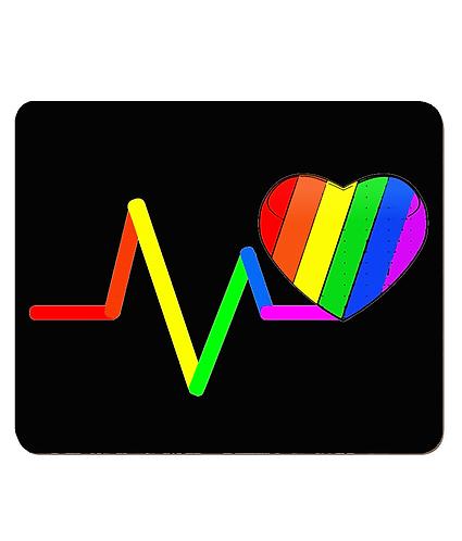 4 x LGBTQ Place Mats! Pulse Rainbow Heart!