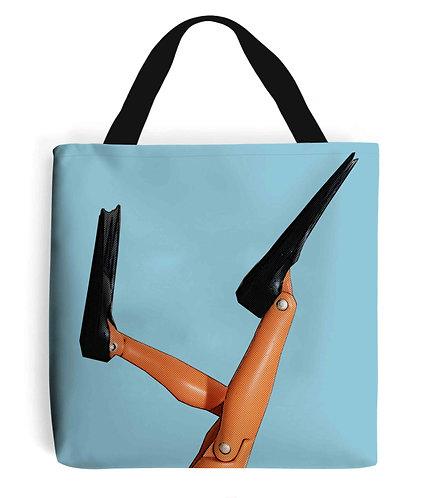 Scuba Diver Flippers! Funny Tote Bag