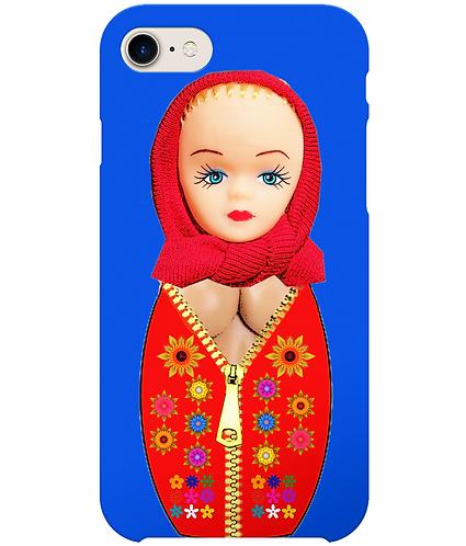 Matryoshka Doll With Big Boobs, Funny i-Phone Case