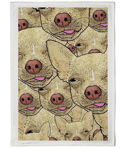 Chihuahua's Lick Me Tea Towel!