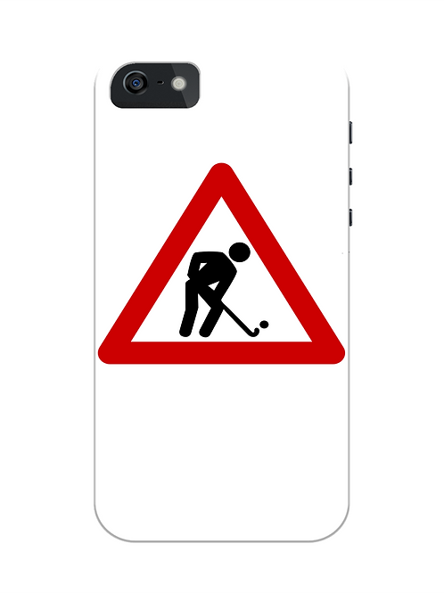 Hockey Player At Work i-phone case