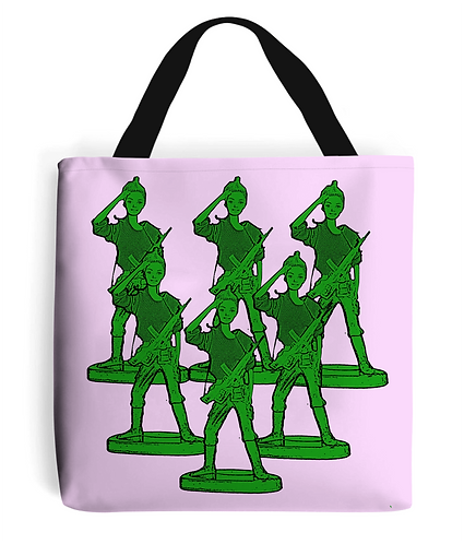 Toy Soldier Army Tote Bag