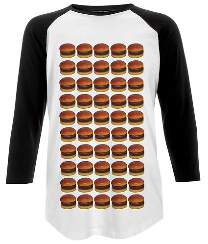 Burgers Baseball Shirt