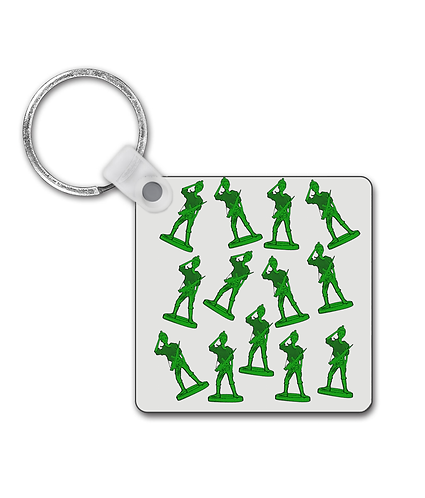 Girl Toy Soldiers Keyring