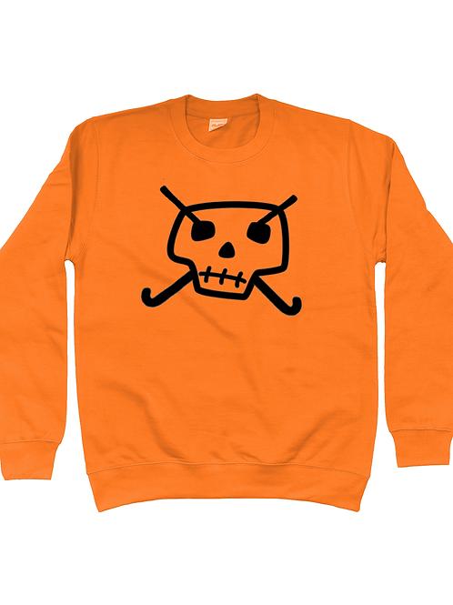 Skull & Hockey Sticks Field Hockey Sweatshirt