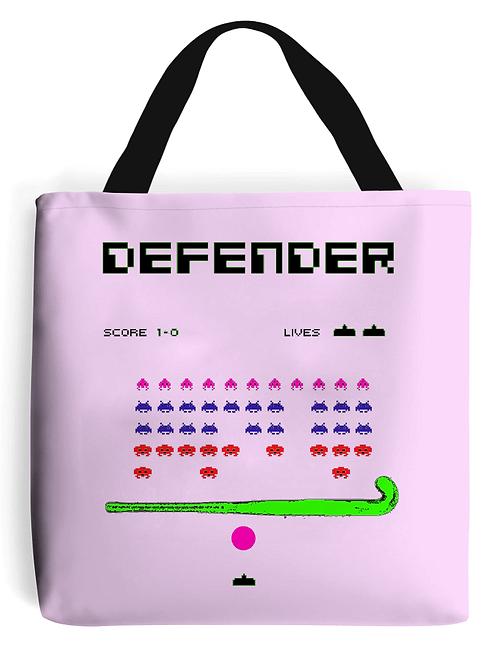 Defender Field Hockey Tote Bag