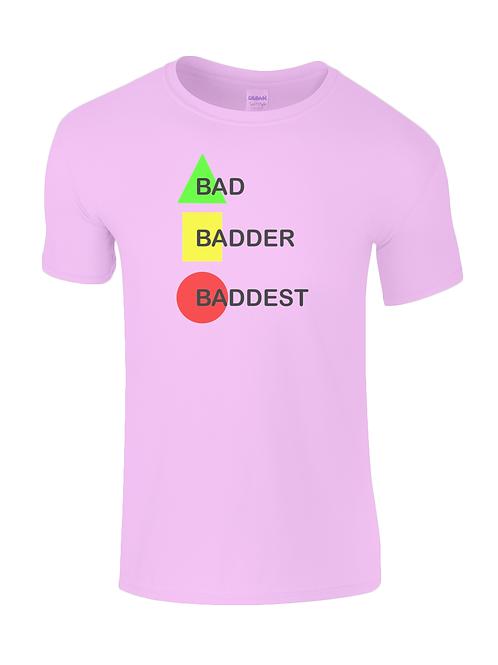 Bad, Badder, Baddest! Kids Field Hockey T-Shirt