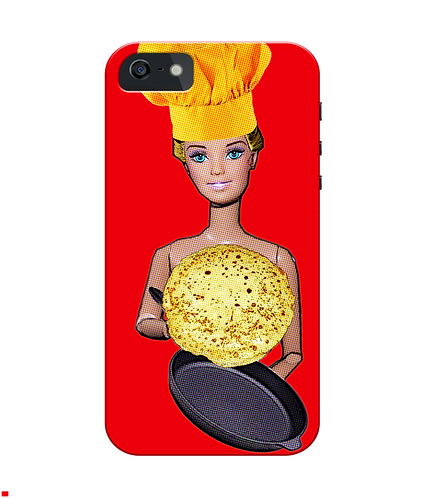 Naked Chef iPhone Case