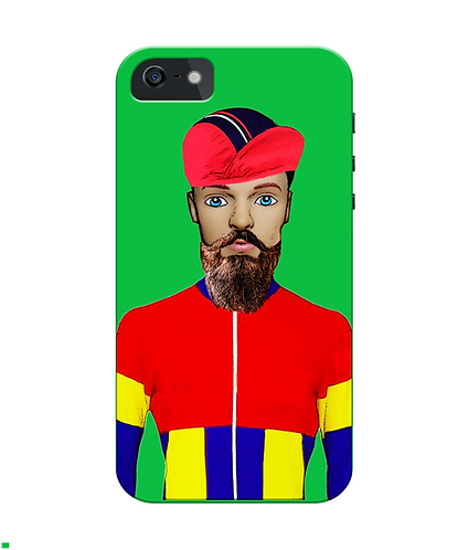 Cyclist iPhone Case