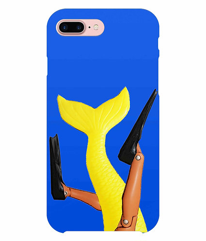 Getting Merlaid! (A Diver & A Mermaid), Funny i-Phone Case