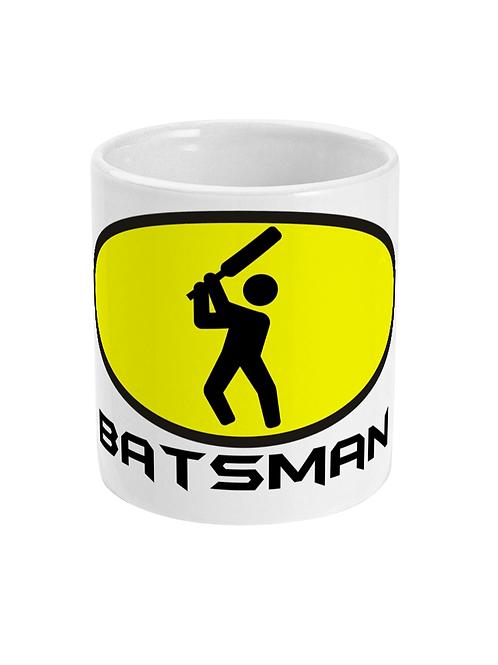 Batsman! Funny Cricket Mug!