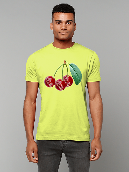 Cherries! Funny Cricket T-Shirt