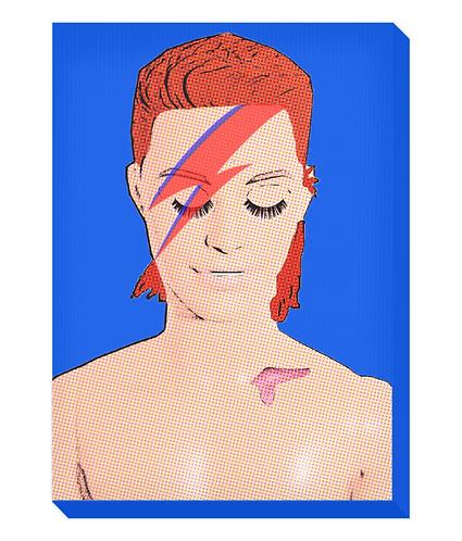 Zowie Bowie Canvas