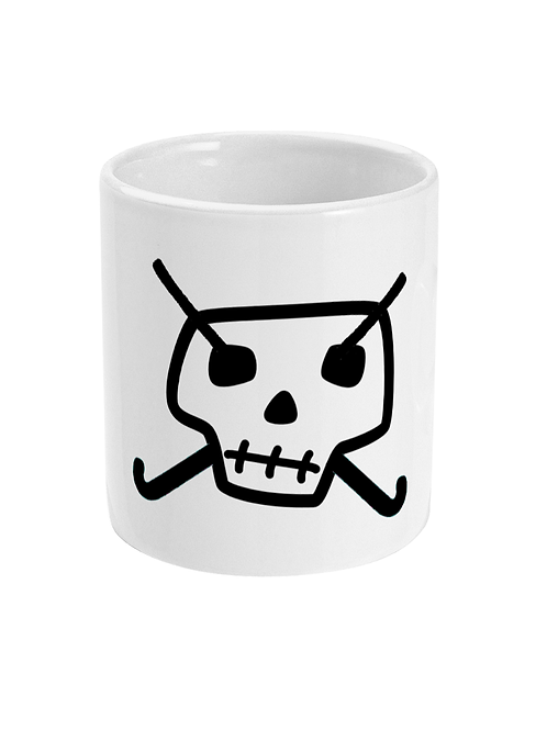 Field Hockey Skull & Cross Bones Mug