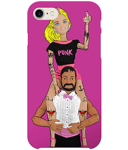 Make My Day Punk! Funny iPhone Case